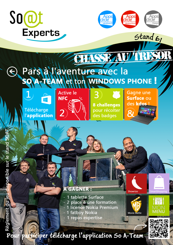 Affiche concours Techdays