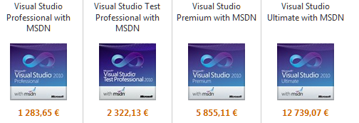 Comparatif de prix VS