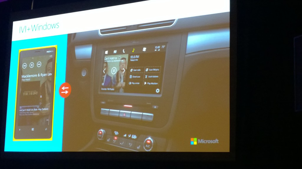 Windows Embedded Automotive Concept