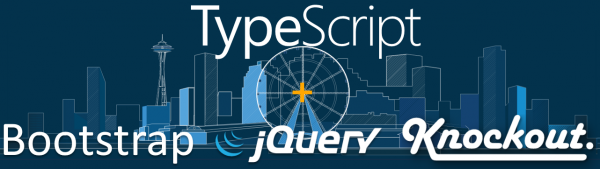 TypeScript + Bootstrap jQuery Knockout