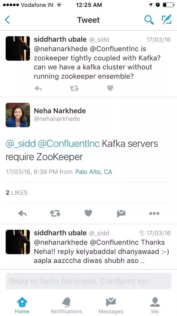 - is Zookeeper tighly coupled with Kafka? can we have a kafka Cluster without running zookeeper ensemble ? - Kafka servers require ZooKeeper
